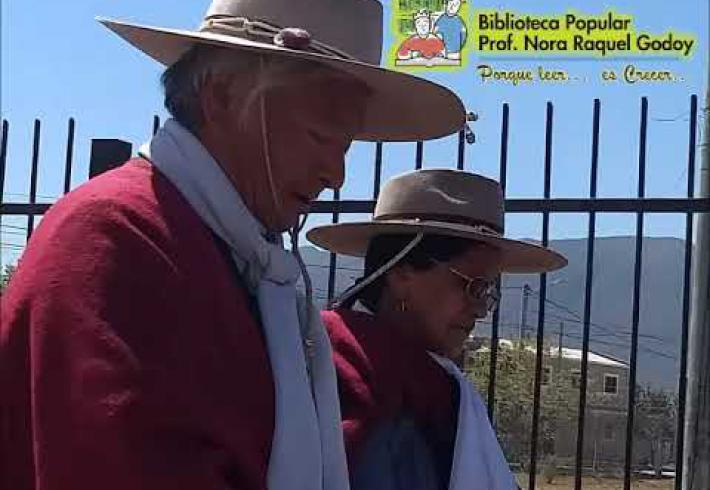 "Embedded thumbnail for Ofrenda a la Pachamama en Biblioteca popular ""Prof. Nora R. Godoy"""